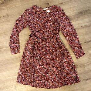 Gap paisley swing dress